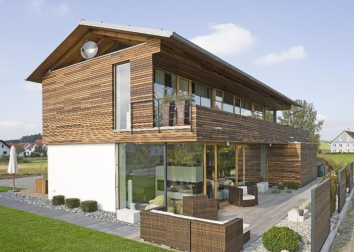 Haus gerber kreative moderne for Einfaches holzhaus bauen