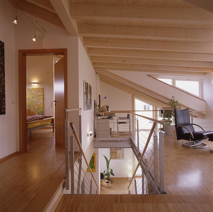 Holzhaus Eins: Einfamilienhaus Hartmann