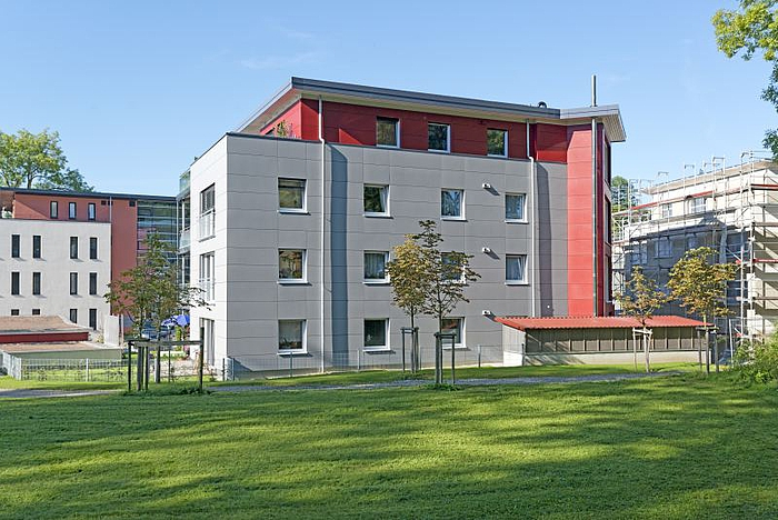 mehrfamilienhaus in isny vier geschosse pr zision und. Black Bedroom Furniture Sets. Home Design Ideas